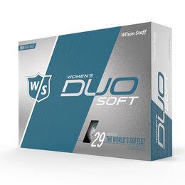 Wilson Staff DUO Soft Matte Women's Golf Balls