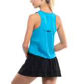 Alternate View 2 of Sleeveless Pleated Back Tank Top