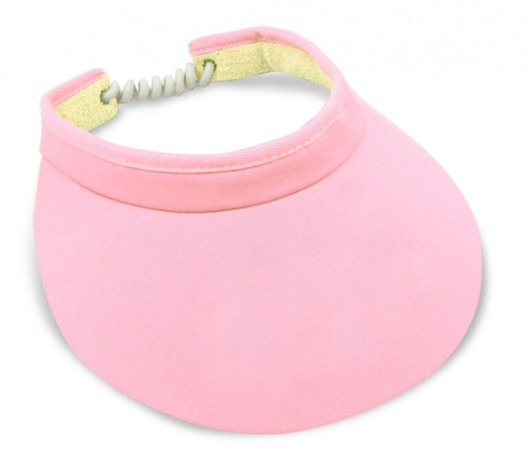 "Imperial Headwear 3 3/4"" Cord Visor Cotton Candy"