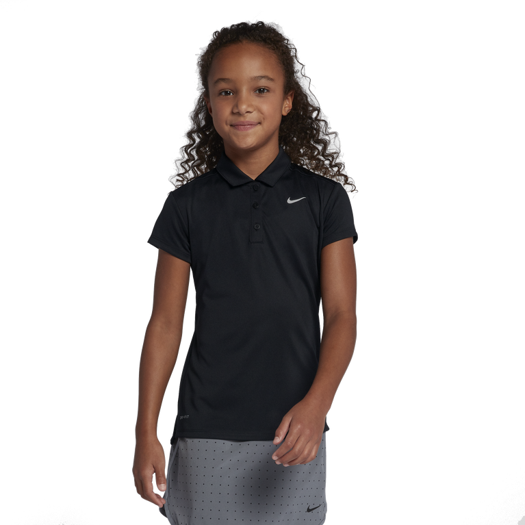 Girls Solid Victory Polo