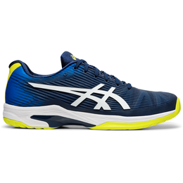 SOLUTION SPEED FF Men's Tennis Shoe - Blue/Yellow