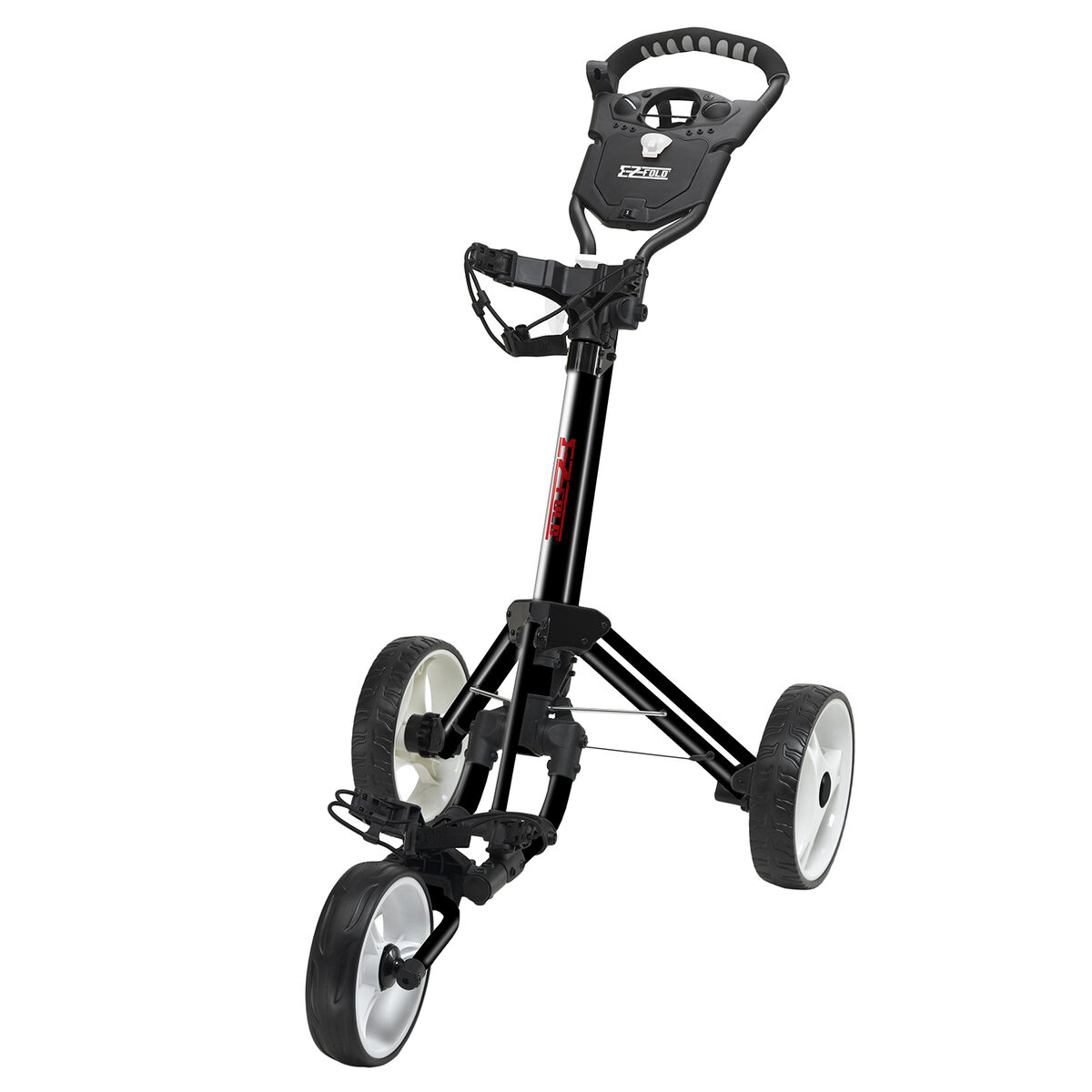 Golf Gifts Gallery Ez Fold Push Cart 1 Button And It Collapses