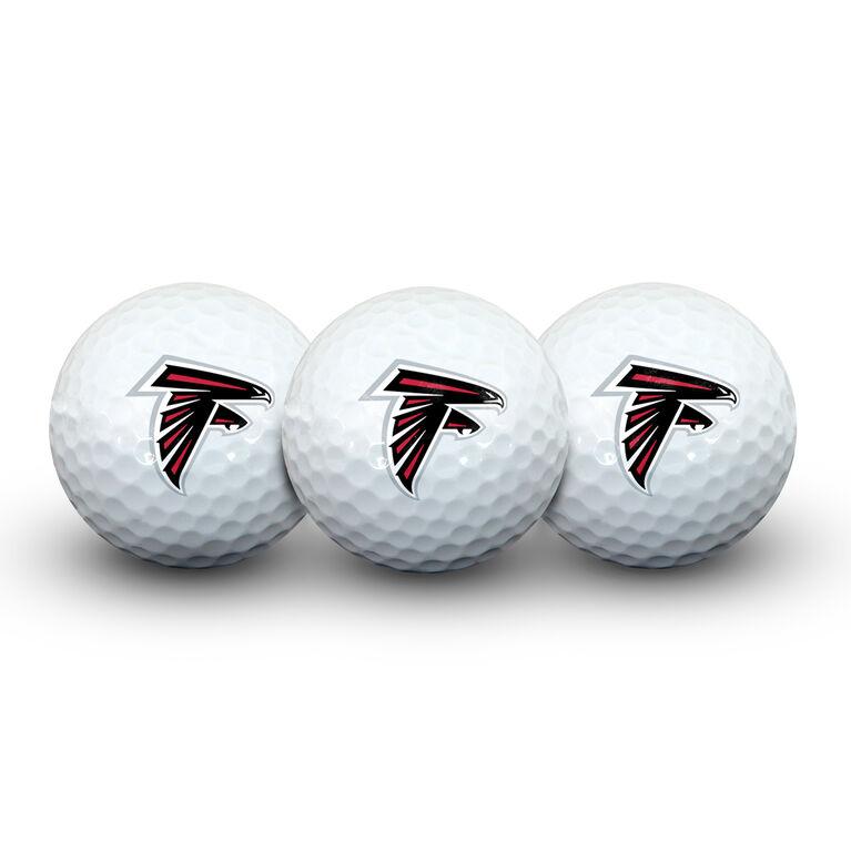 Team Effort Atlanta Falcons Golf Ball 3 Pack