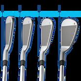 PING i Irons 4-PW Blue Dot - w/Nippon Modus Shafts