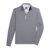 Alternate View 3 of Houndstooth Jacquard Quarter-Zip Pullover