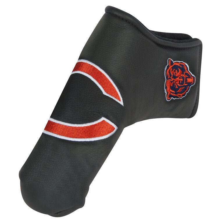 Team Effort Chicago Bears Black Blade Putter Cover