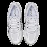Alternate View 4 of Court Speed FF Men's Tennis Shoe - White/Silver