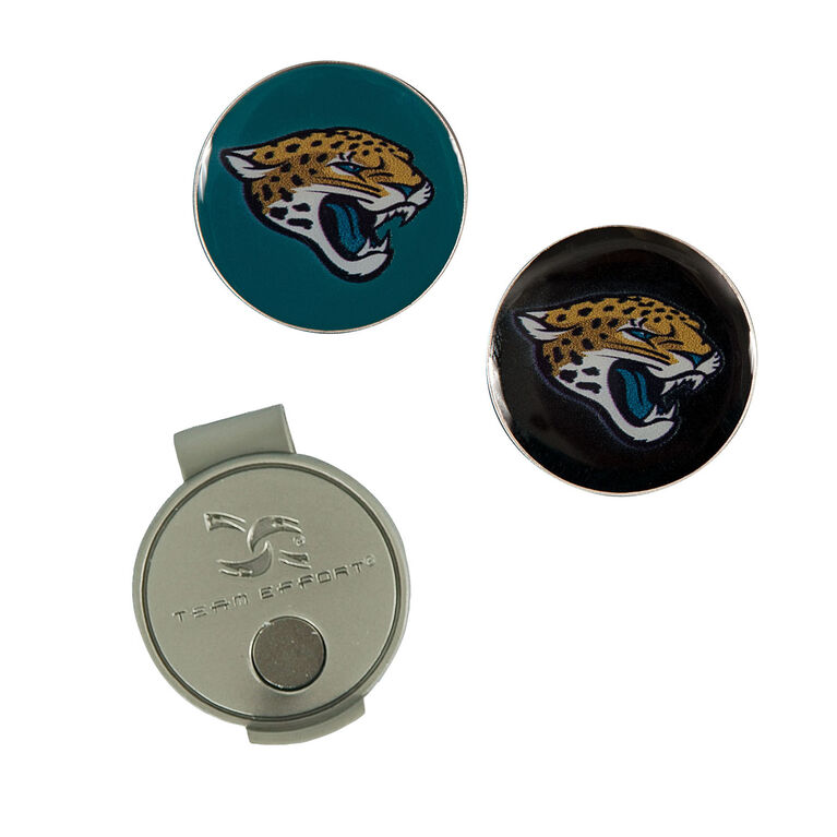 Team Effort Jacksonville Jaguars Hat Clip & Ball Marker