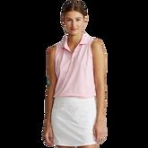 Sleeveless Piqué Polo Shirt