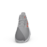 Alternate View 4 of Gamecourt Men's Tennis Shoes - Grey/Red