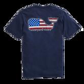 Americana Whale Short-Sleeve Pocket Tee
