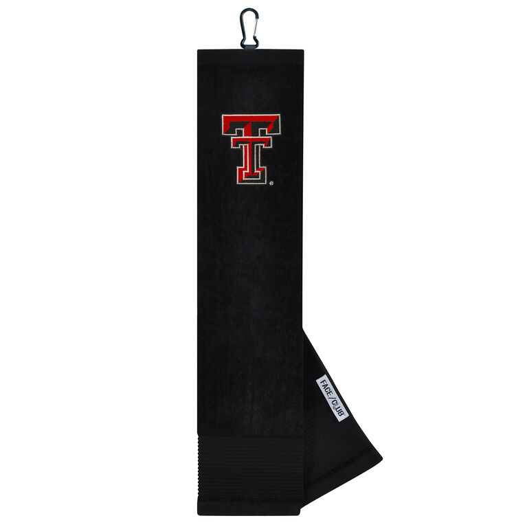 Team Effort Texas Tech Red Raiders Tri-Fold Towel