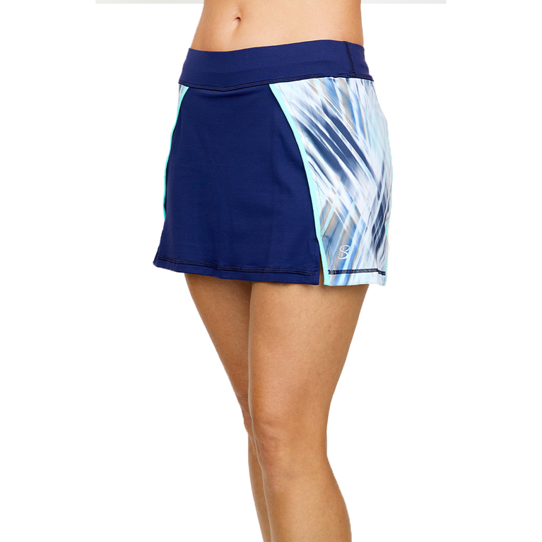 """Speed Lines Collection: Printed Inset 14"""" Tennis Skort"""