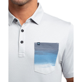 Just a Blur Short Sleeve Polo