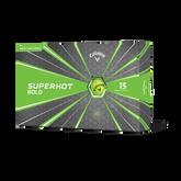 Superhot Bold Matte Green Golf Balls 15-Pack