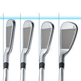 PING i Irons 4-PW Blue Dot - w/Dynamic Gold Shafts