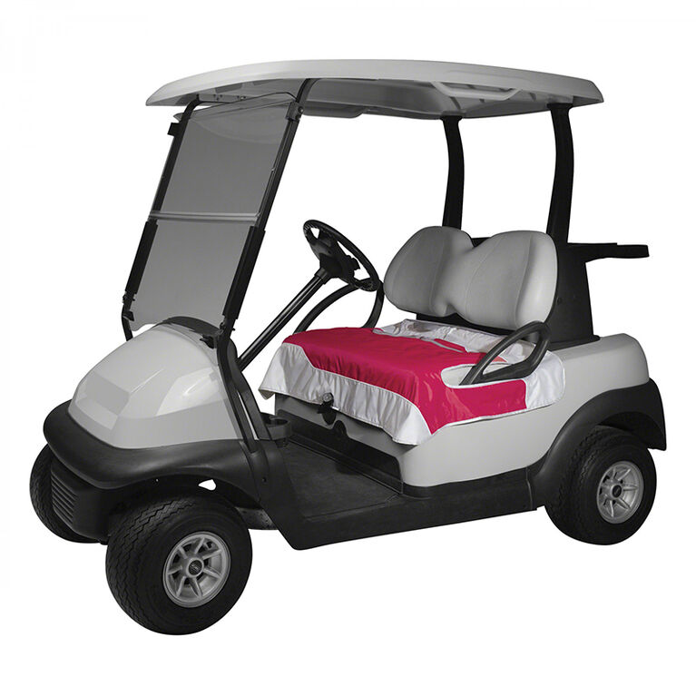 Classic Cart Fairway Golf Cart Seat Blanket - Perfect Pink