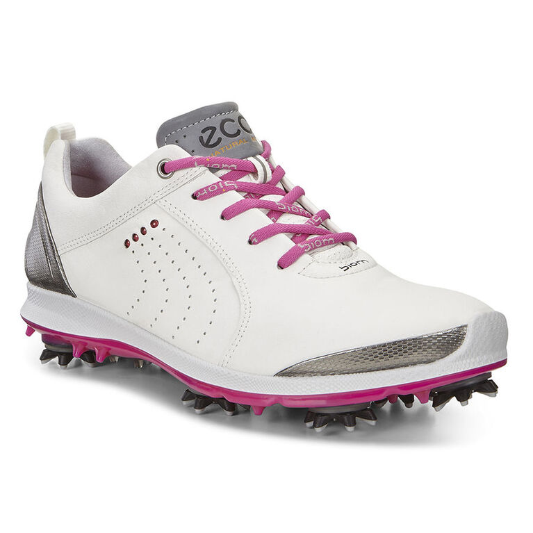ECCO BIOM G 2 Free Women's Golf Shoe - White/Silver