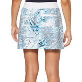 Alternate View 1 of Green Group: Tropic Shades Print Golf Skort