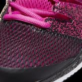 Alternate View 4 of NikeCourt Air Zoom Vapor X Women's Hard Court Tennis Shoe - Pink/Black