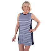 Appletini Collection: Sleeveless Striped Swing Dress