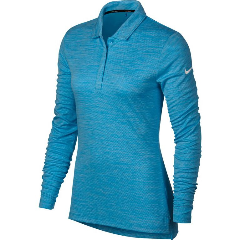Nike Women's Long Sleeve Dry Golf Polo
