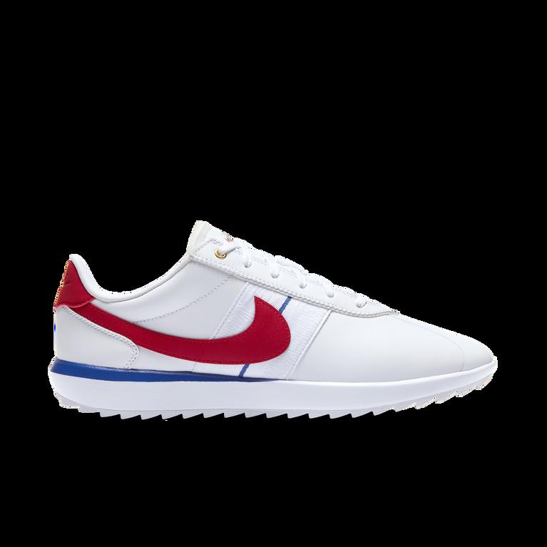 Cortez G Women's Golf Shoe - White/Red
