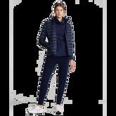 Alternate View 1 of Long Sleeve Full Zip Down Jacket