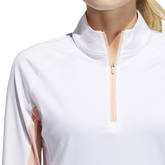 Alternate View 6 of Ultimate365 Climacool Half Zip Long Sleeve Shirt