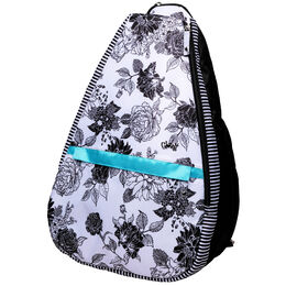 B/W Rose Tennis Backpack