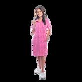 Alternate View 2 of Austin Short Sleeve All Over Maize Print Dress