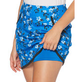 Alternate View 1 of PGA TOUR Black and Blues Collection: Floral Print Golf Skort