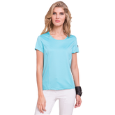Fiji Collection: Short Sleeve Solid Golf Top