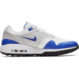 Air Max 1 G Men's Golf Shoe - White/Blue