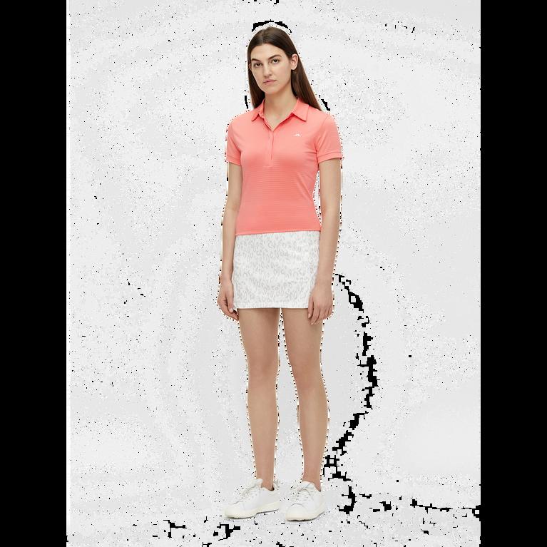 Amelie Animal Print Mid-Length Golf Skirt
