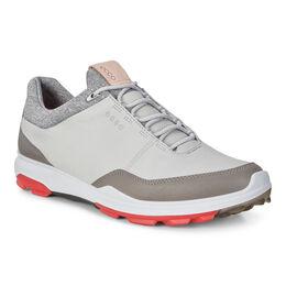 ECCO BIOM Hybrid 3 GTX Men's Golf Shoe - Grey/Red