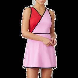 30 Love Sleeveless Faux Wrap Tennis Dress