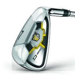 Wilson D200 5-PW,GW Iron Set w/ Uniflex Steel Shafts