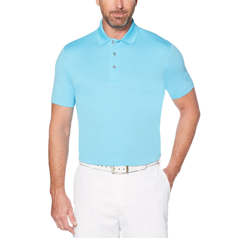 PGA TOUR Airflux Solid Mesh Polo