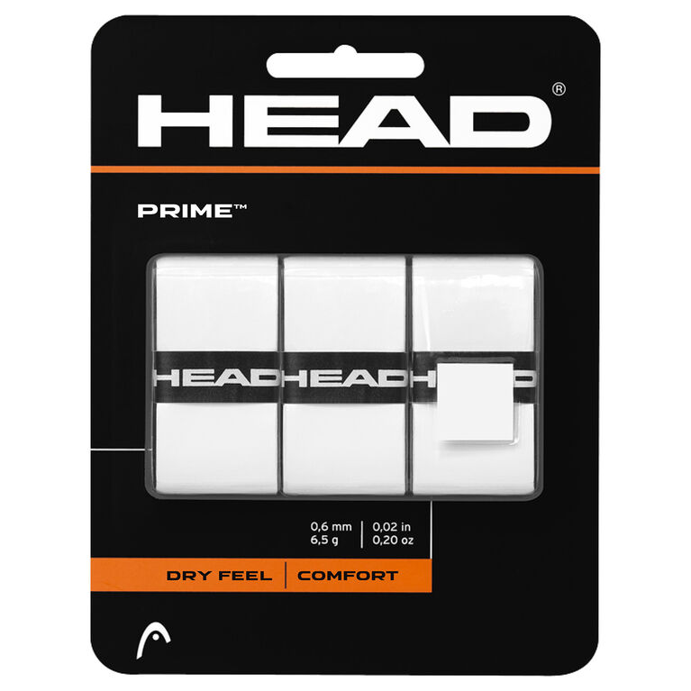 Head Prime Grip 3-Pack - White