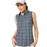 Alternate View 1 of Sleeveless Keystone Check Print Shirt