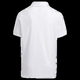 Boy's Print Colorblock Polo Shirt