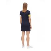 Alternate View 3 of Ines Short Sleeve Mock Neck Dress