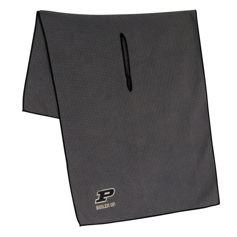 Team Effort Purdue Boilermakers Microfiber Towel