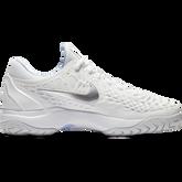 Zoom Cage 3 Women's Tennis Shoe - White/Blue