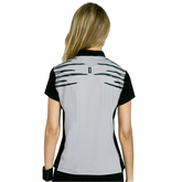 Alternate View 1 of Super Nova Collection: Short Sleeve Stripe Front Top