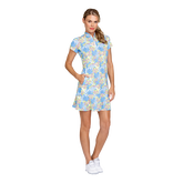 Alternate View 1 of Fun in the Sun Collection: Neale Ditsy Daisy Short Sleeve Dress