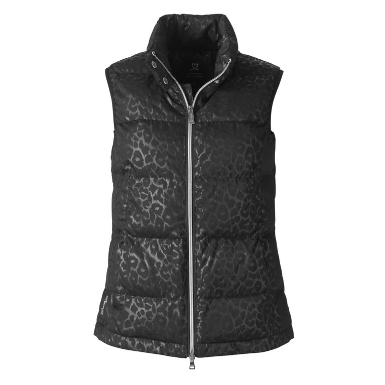 Animal Group: Leopard Print Puffer Vest