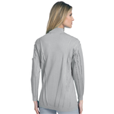 Alternate View 1 of Long Sleeve Full Zip Sweater