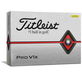 Alternate View 1 of Pro V1x Yellow Golf Balls - Personalized